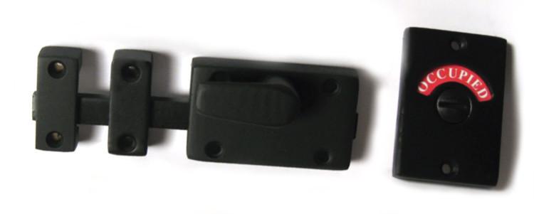 privacy deadbolt lock black