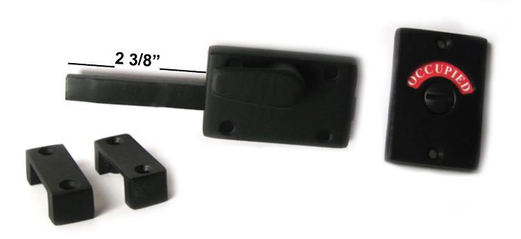 bathroom indicator lock long bolt