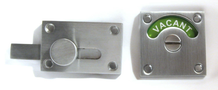 red green occupied vacant, bathroom indicator lock