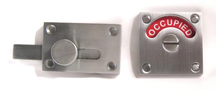 occupancy indicator lock