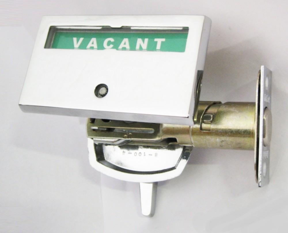 vacant occupied door Indicator, privacy indicator door lock, restroom deadbolt, occupied door lock