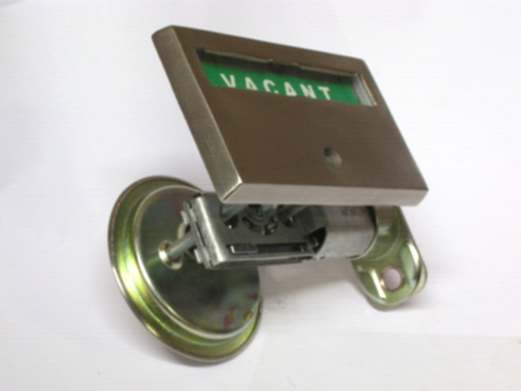 pocket door lock, pocket door indicator lock, red green pocket door indicator lock