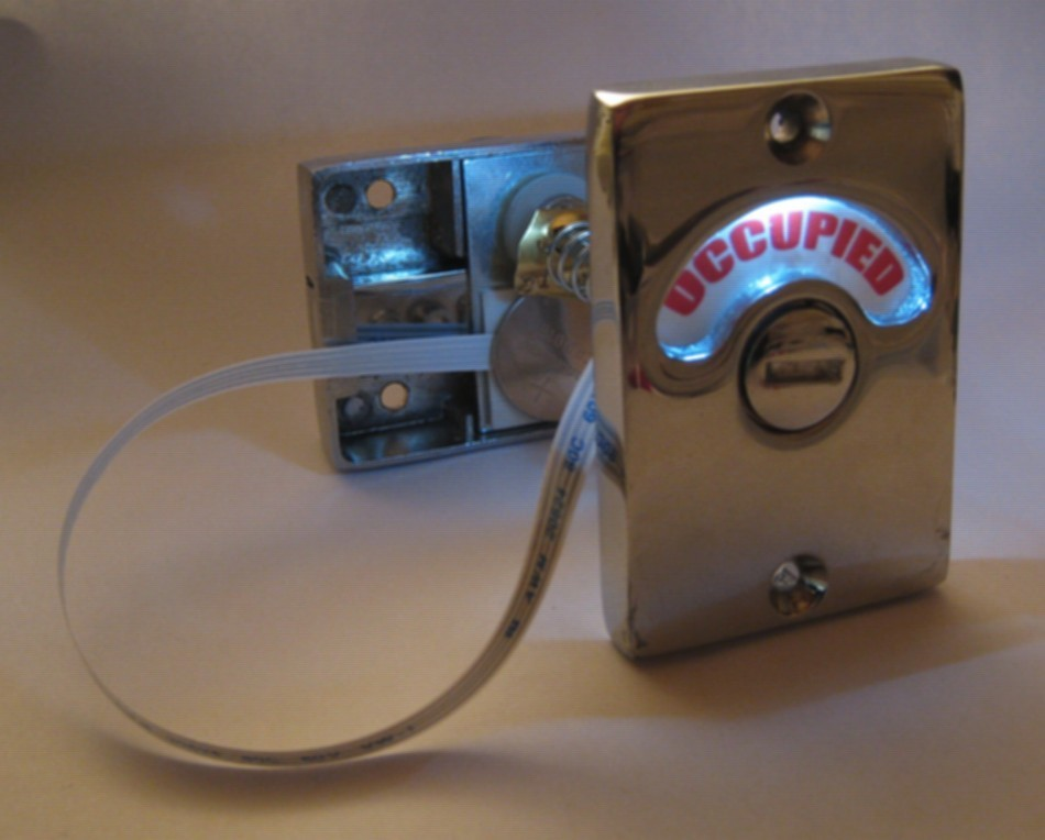 bathroom indicator with led, privacy indicator lock led