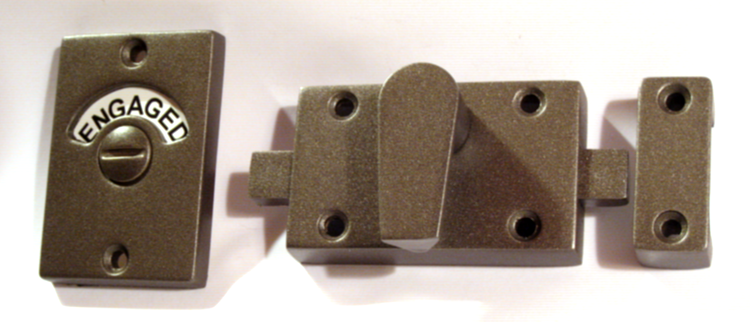 aged bronze privacy lock, bronze bathroom hardware, indicator lock bronze