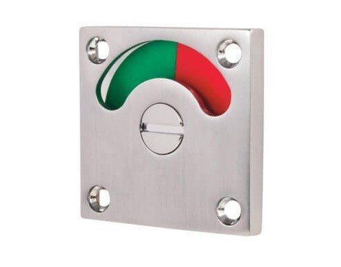 red green indicator, bathroom privacy lock engaged
