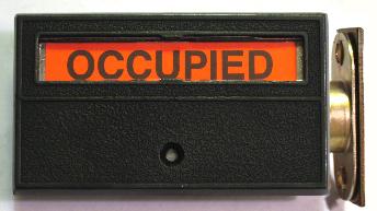 Privacy Latch, Restroom Occupied Lock, Privacy Indiactor Door Lock