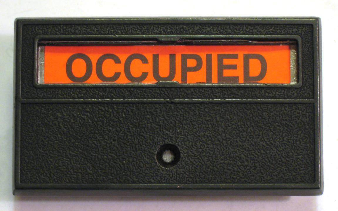 K 250 series occupancy door lock occupied bathroom lock privacy indiactor lock aloadofball Gallery