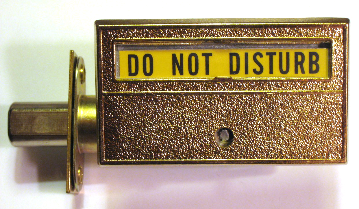 Privacy Indicator Lock, Do Not Disturb Indicator Lock