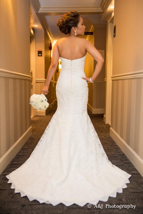 Fran bridal hair