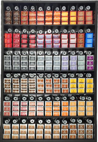 Hair Color Storage  Hair Color Organizer  1 Salon Equipment  Salon Storage