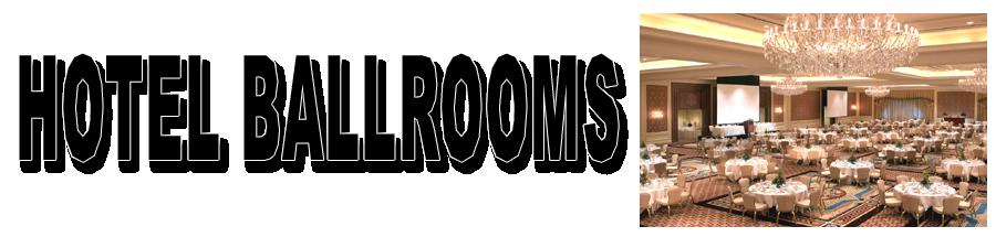900 X 215 HOTEL BALLROOM