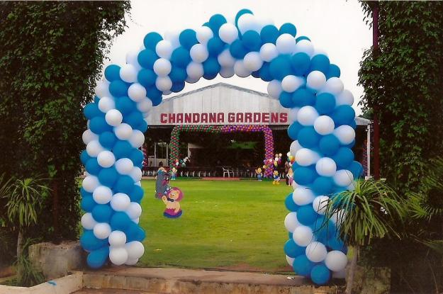 Variantservices for Balloon decoration for birthday party in hyderabad