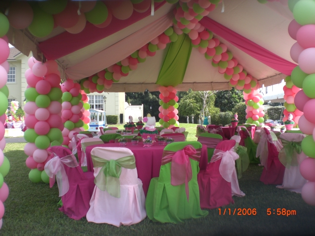 Variantservices for Balloon decoration ideas for quinceaneras