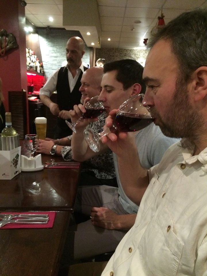 xmas 2015 matlock mma club red wine
