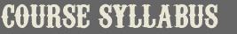 Course Syllabus Delhi Sound Studio