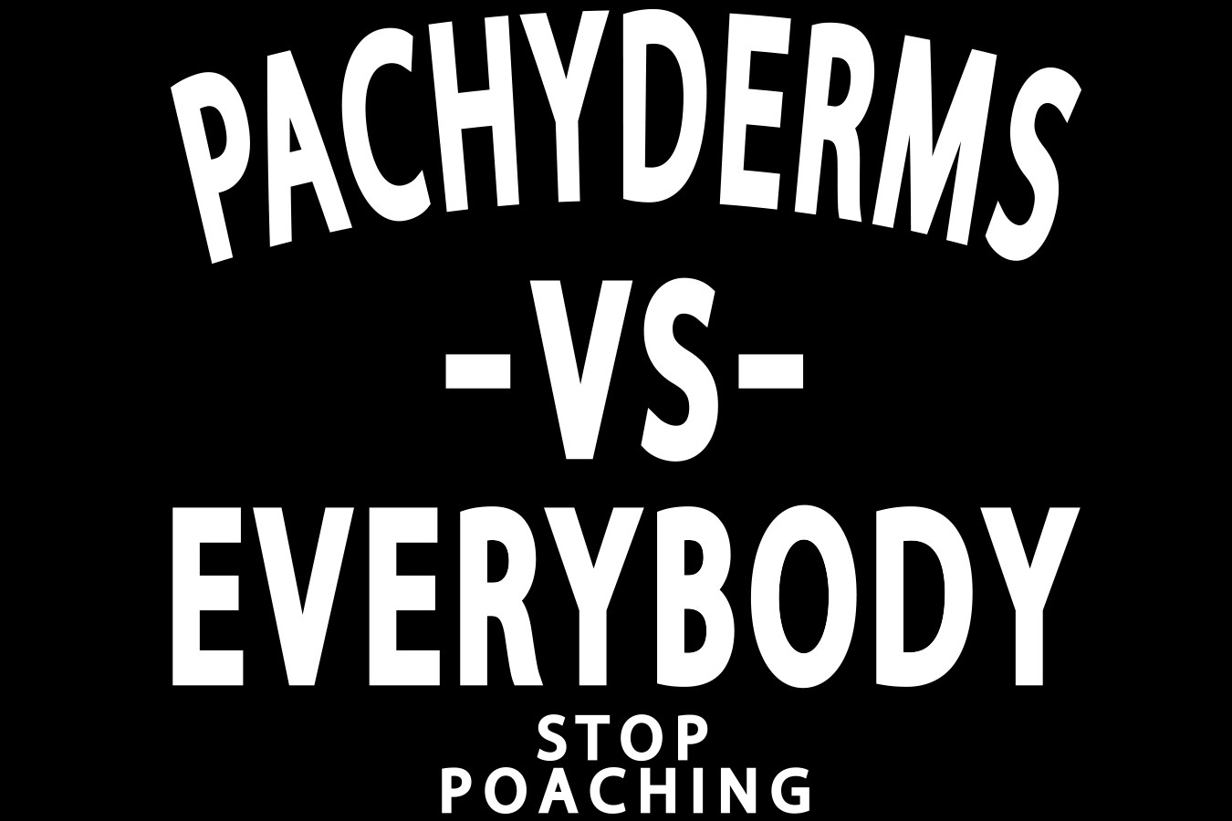 Pachyderms Vs Everybody Slide