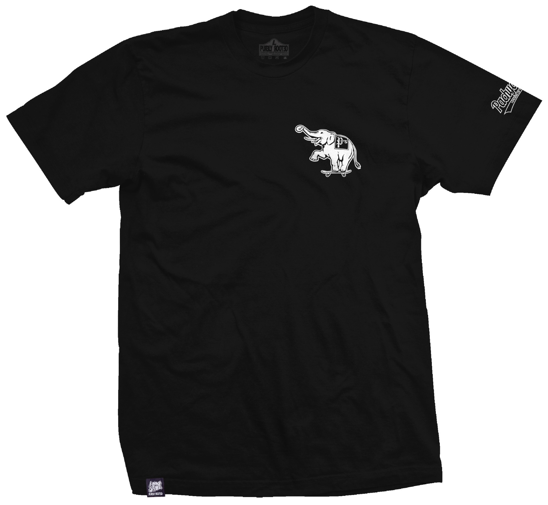 Oakland P's Tee Black front