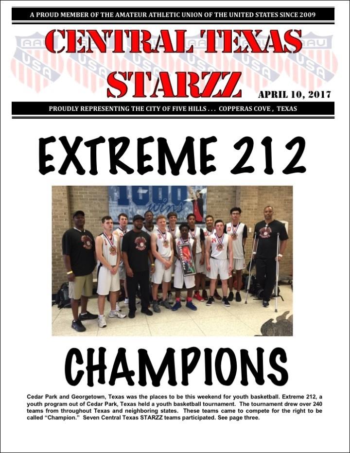April 10, 2017 Newsletter