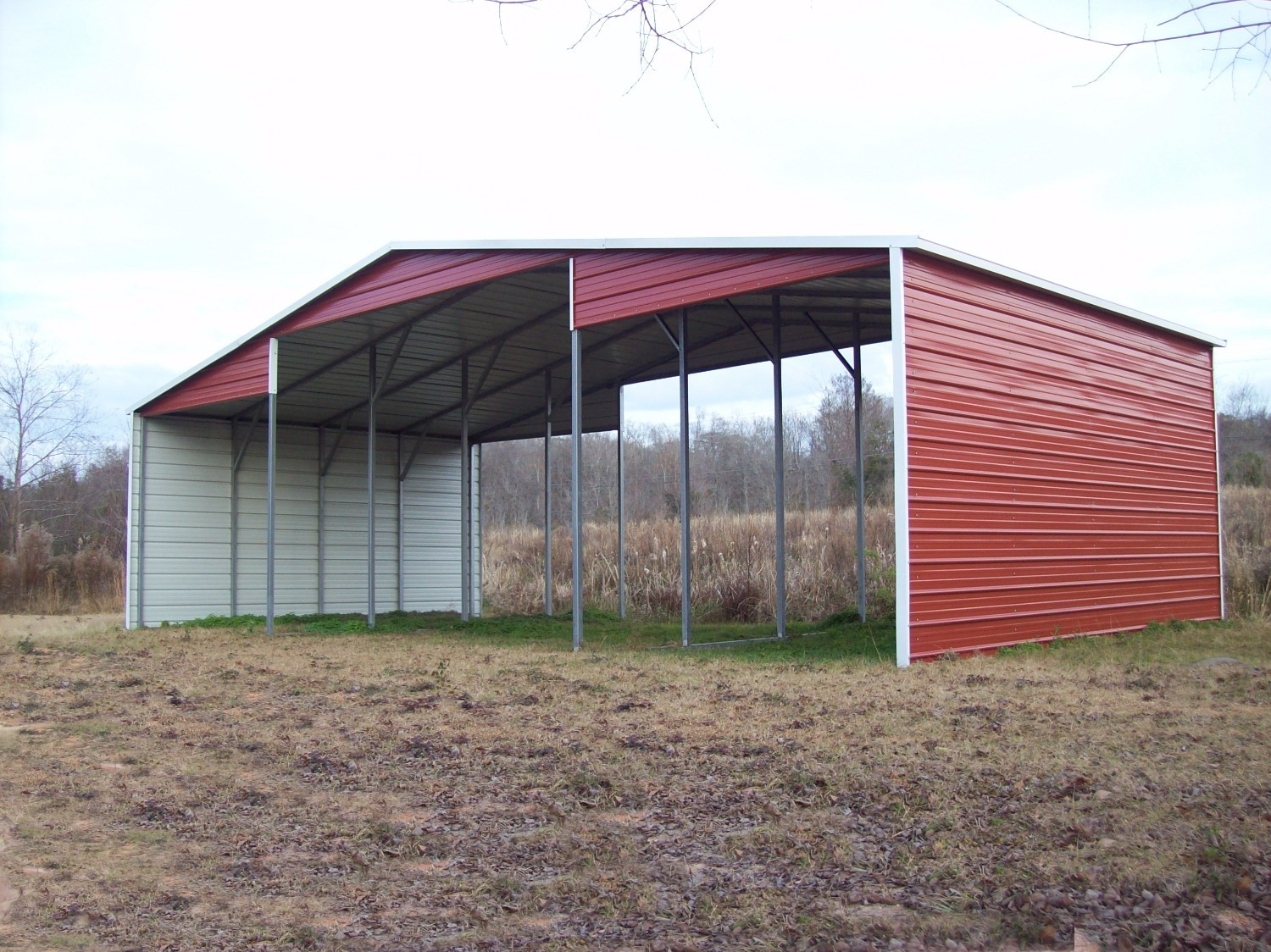 Pole barn financing