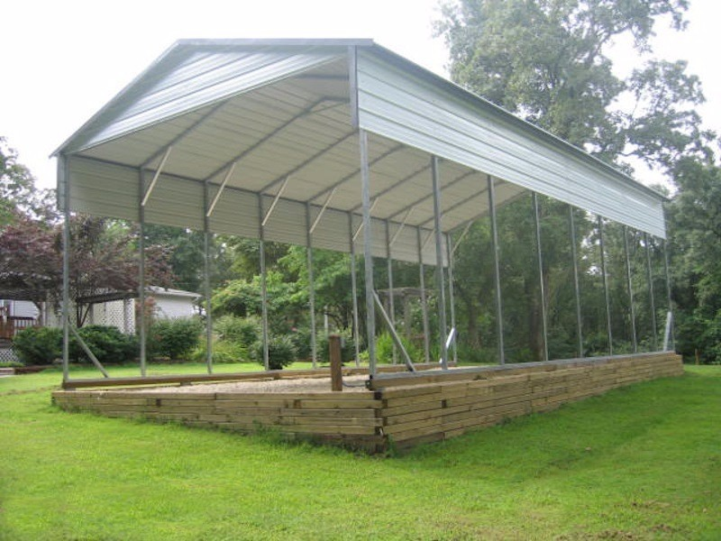Carports Metal Garages Steel Rv Covers Eagle Carports