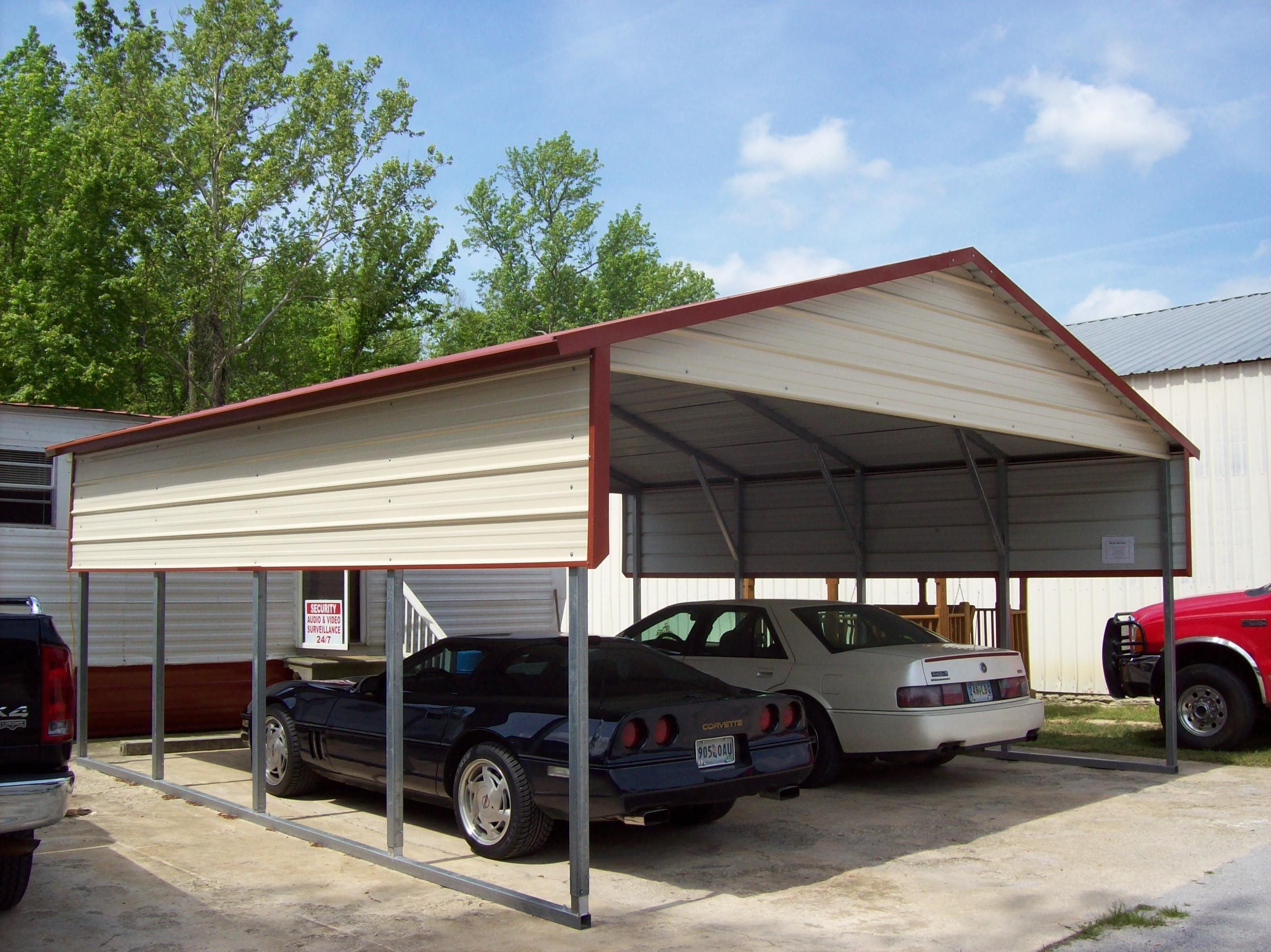 2 Car Carport