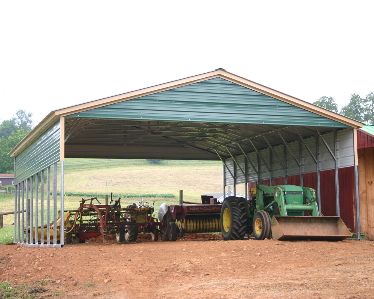 Farm Equipment Shelter
