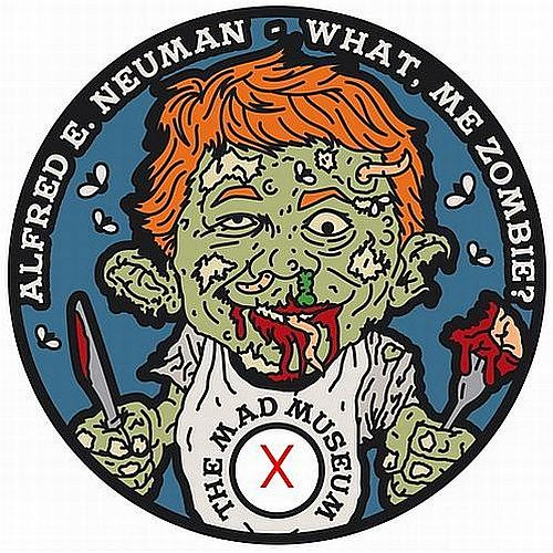 THE MAD MUSEUM PATHTAG ALFRED E NEUMAN MAD MAGAZINE ZOMBIE