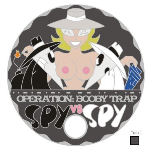 SPY VS SPY GREY LADY NUDE SILVER PATHTAG