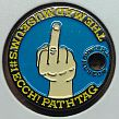 MAD MUSEUM MIDDLE FINGER PATHTAG GEOCOIN CACHE