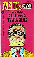 DAVE BERG LOOKS AT MODERN THINKING MAD MUSEUM PAPERBACK BOOK