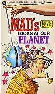 DAVE BERG LOOKS AT OUR PLANET MAD MUSEUM PAPERBACK BOOK