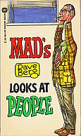 DAVE BERG LOOKS AT PEOPLE MAD MUSEUM PAPERBACK BOOK