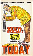 DAVE BERG LOOKS AT TODAY MAD MUSEUM PAPERBACK BOOK