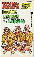 DAVE BERG LOOKS LISTENS AND LAUGHS MAD MUSEUM PAPERBACK BOOK