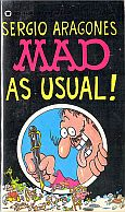 MAD AS USUAL MUSEUM PAPERBACK BOOK