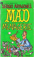 MAD MENAGERIE MUSEUM PAPERBACK BOOK