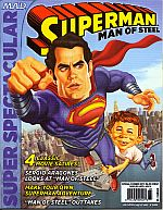 MAD PRESENTS SUPERMAN MAN OF STEEL