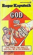 ROGER KAPUTNIK AND GOD DAVE BERG SIGNET MAD MUSEUM PAPERBACK BOOK