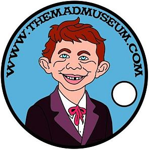 THE MAD MUSEUM PATHTAG GEOCOIN CACHE COLLECTIBLE RARE COIN MAD MAGAZINE ALFRED E NEUMAN NEWMAN