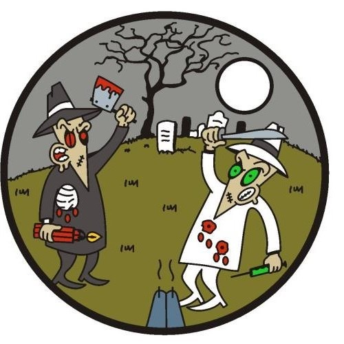 THE MAD MUSEUM SPY VS SPY PATHTAG ZOMBIE