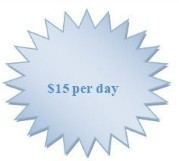 $15 per day