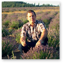 Gary Young on Young Living's Lavender Farm