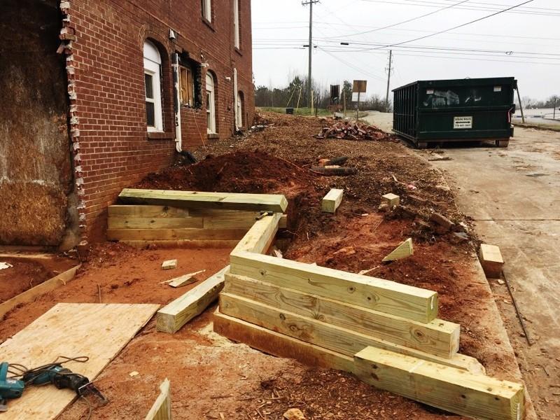 Cooper Retaining Wall