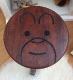 Jarrah Bear face childs stool