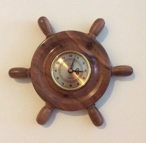 Beefwood ships clock