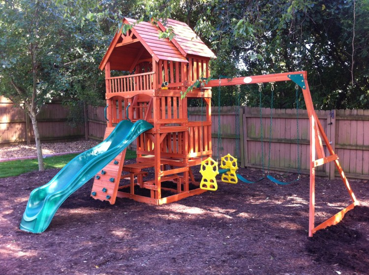 Portable storage buildings and playground equipment and ...