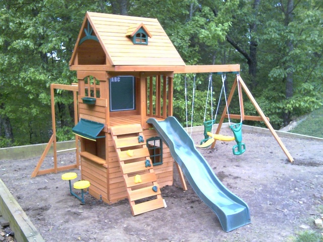Playground And Swingset Assembly And Installation In Chattanooga Tn