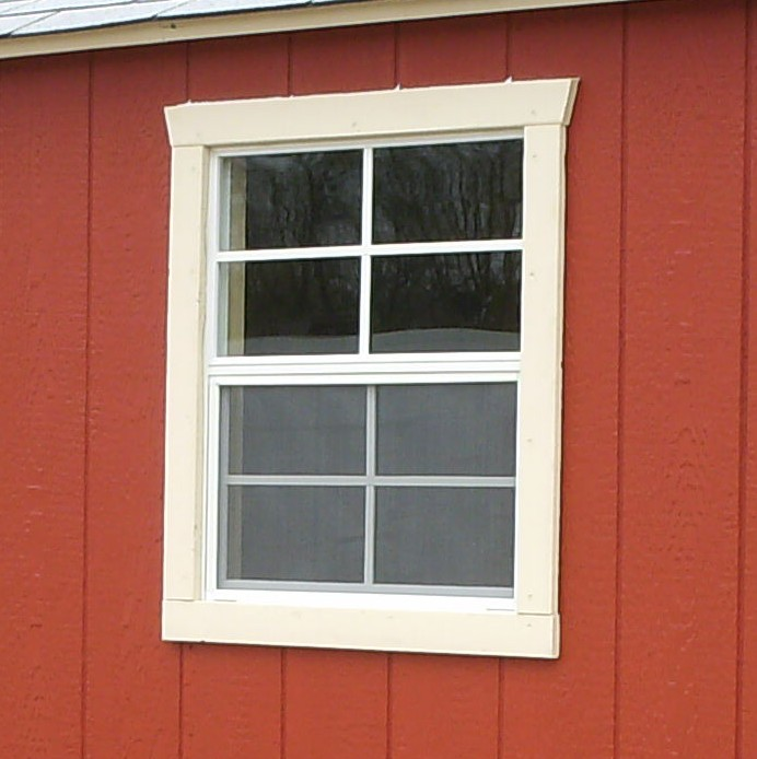 shed window