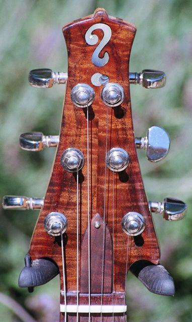 handmade 5-piece bolt-on neck