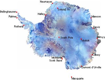 Rileysantarctica - Antarctic research stations map